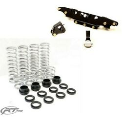 Rt Pro 1.5 Lift Kit And Standard Rate Spring Bundle For Polaris Rzr S 900 4 Seat