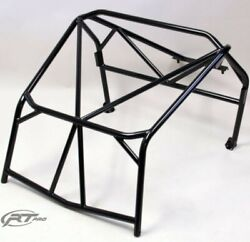 Rt Pro Mzr-rc Black Powder Coated Roll Cage Bolt On Fitment For Polaris Rzr 170