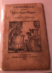 Charles Perrault / Cinderella Or The Little Glass Slipper 1824 Early Edition