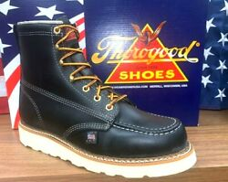 Thorogood Men Size 7 D Work Boots 814-6201 Wedge Bottom Boots Union US Made $206.00