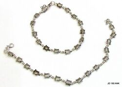 Tortoise Antique Charms Barefoot Anklets Pair Ethnic Gypsy, Bohemian, Gypsy Gift