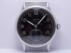 Zenith Dh 1942and039s Old Military Second World War Wwii Menand039s Wristwatch