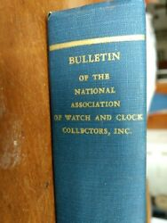 Bulletin Of National Association Of Watch And Clock Collections Vols. I Ii Iii