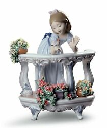 Lladro Morning Song Girl Figurine. Special Edition 01008735