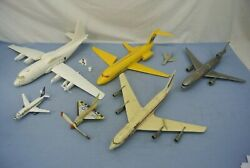Lot Of Toy Airplanes Damaged And Worn  American Western