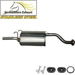 Stainless Steel Exhaust Muffler With Hangers And Bolts Fit 99-2000 Civic El 1.6l