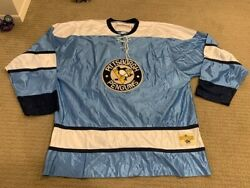 Rare Pittsburgh Penguins Ebbets Field Flannels Heritage Nhl Sweater Sz Xl