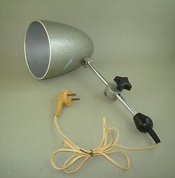 Vintage Old Russian Drawing Drafting Table Lamp 60's, Soviet Industrial Lamp