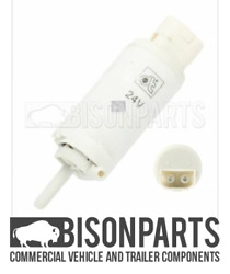 Fits Scania 3 And 4 Series Models Windscreen Washer Pump 2 Pin Version Dt122085