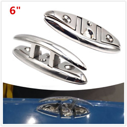 316 S.s Marine Grade Boat Flip Up Folding Pull Up Cleat Hardware Line Rope Cleat