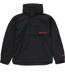 Supreme Gore-tex Anorak Black Color Size S /ss20 Jacket | Week 0 | In Hand