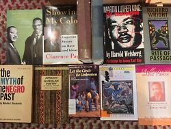 11 Black Political Americana Book Lot Malcolm X Martin Luther King Richardwright