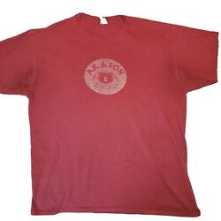Alexander Keithand039s Pale Ale Beer Tshirt Brewery Clothes Size Large Breweriana