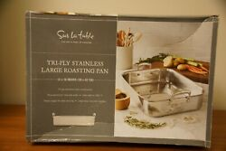Sur La Table Tri-ply Stainless Steel Large Roasting Pan 16x12x3.5