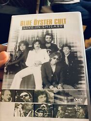 Blue Oyster Cult Live In Chicago—-rare Dvd