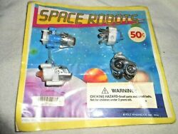 Space Ship Toy Display Bubble Gum Machines See Desc
