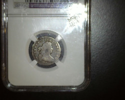 1805 5 Berries Bust Dime Jr-1 - Ngc Vg Details - Scarce - Just 120500 Minted