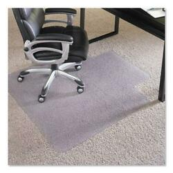 Performance Series Chair Mat With Anchorbar For Carpet Up To 1 36 X 48 Clear