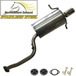 Stainless Steel Exhaust Muffler With Hangers And Bolts Fit 2002-2005 Impreza