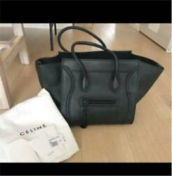 Celine Phantom Bag Black With designated Bag