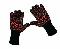 Vlixit Bbq Grill Oven Gloves - Fireproof, Insulated Heat Resistant Mitt For B...