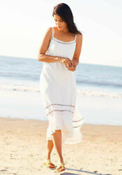 Womens Matilda Jane S Brilliant Daydream Adante Dress White Beach Small $72.90