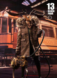 Black 13 Park 1/6 Scale Deer 5 Anniversary Edition With Hide Head Figure Instock
