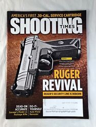 Shooting Times Magazine Back Issue May 2018 Ruger Revival Cover Guns Ammo