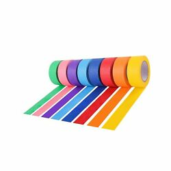 Colored Masking Tape/painters Tape Kids Craft Set - 8 Different Colored Tape...