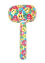 6/12/18/24 Inflatable Smily Face Mallet 66cm Strongman Accessory Prop X99271