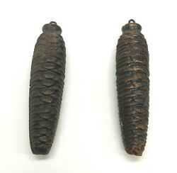 Cuckoo Clock Weights Two 15oz Pine Cone Weights