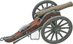 China Made Confederate Cannon Replica 210491 11 5/8 Long. Wood And Metal Constr