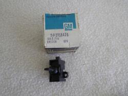 Vintage Gm New Old Stock Rear Defogger Switch With Bezel 3998476 For Gm Cars