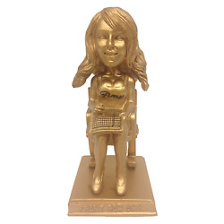 Amy Williams Front Row Amy Milwaukee Brewers Gold Version Bobblehead Mlb