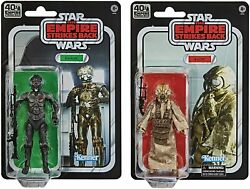 Star Wars Black Series The Empire Strikes Back 4-lom And Zuckuss 2 Pack 6 Figuers