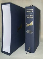 A Game Of Thrones - George R. R. Martin - 1st Thus Hb - A Song Of Ice And Fire