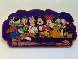 Disney Epcot Le 50 Search For Imagination Super Jumbo Pin Family Of Characters