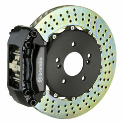 Brembo Gt Bbk For 02-03 Civic Si Hatchback | Front 4pot Black 111.6008a1