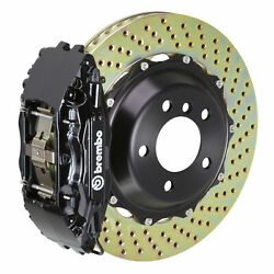 Brembo Bbk For 96-02 E-class / Including Amg W210   Front 4pot Black 1b1.8029a1