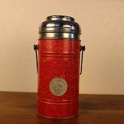 Vintage Iron Thermos Wei Yet Made In Hong Kong Useful And Collectible 925