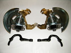 Gm Drop Spindles 2 Caliper Brackets Steering Arms Gm A Body Disc Brake Spindles