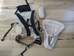 Ergo 360 Baby Carrier + Infant Insert. Sling Harness Backpack Front Pack Pouch
