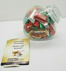 Hershey's Chocolate Glass Candy Jar 3128 - New In Package With Original Box