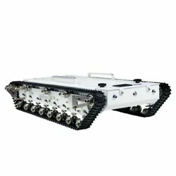 Robot Tank Wt600s Chassis Metal Tracked Tank Car Rc Off-road Vehicle+remote Top