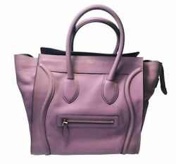 Womens Designer Celine Mini Luggage Bag $915.95