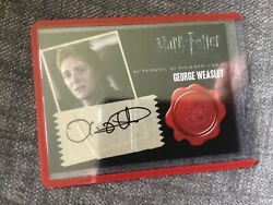Harry Potter Deathly Hallows 2 Auto Autograph 10case Incentive Phelps Weasley
