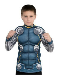 Marvel Thor Childs Muscle Shirt New In Package