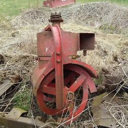 Gravely Walk Behind Lawn Tractor Square Chute Snow Thrower Parts Or Repair