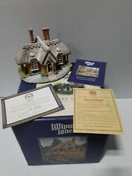 Lilliput Lane Kerry Lodge Christmas Collection Boxed With Deeds 769 1995