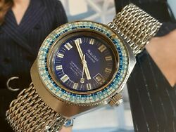 Very Rare Vintage Jenny Caribbean 1500 For Philip Watch Hight Beat Dive Watch